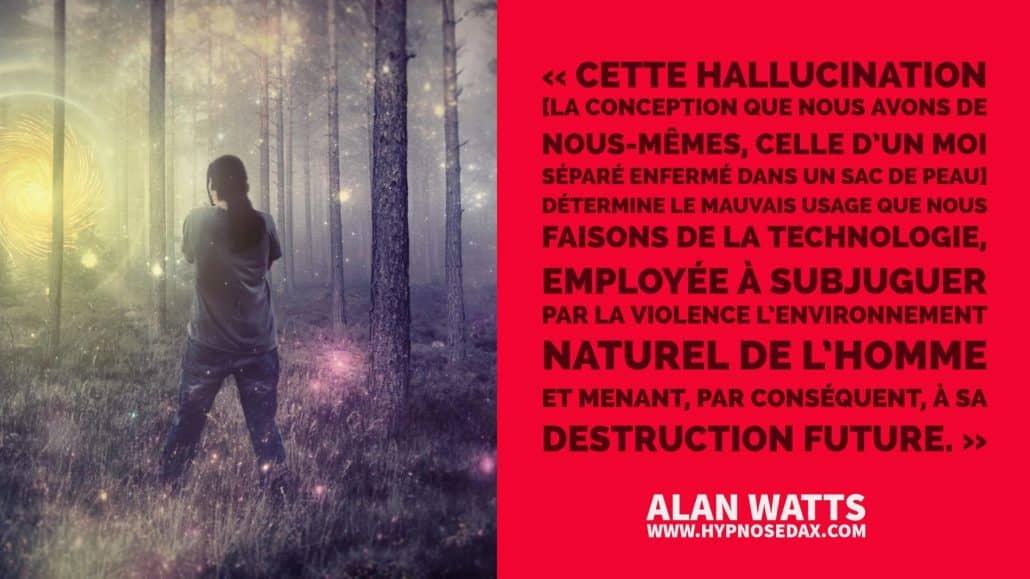 alan watts hallucination