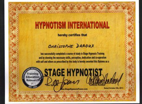 Hypnothérapie et hypnose de spectacle